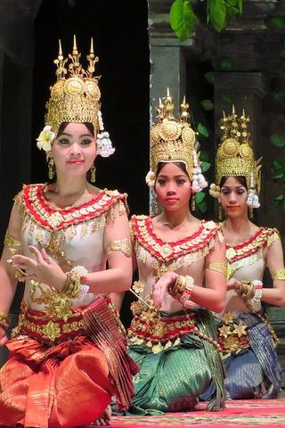 Traditional Dancers, Cambodia