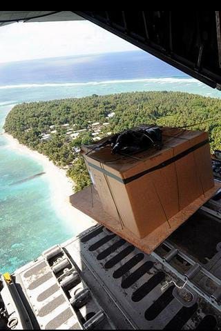 US Air Force Aid Drop, Federated States of Micronesia